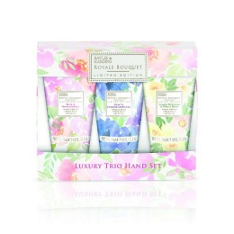 Set Cadou Baylis & Harding Royale Bouqet 3 Hand Cream Set - Crema de Maini 3 x 30ml