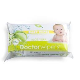 Servetele pentru bebelusi cu aloe vera - Doctor Wipes 72 buc