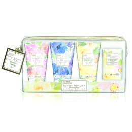 Set Cadou Baylis & Harding Royale Bouquet Travel Set - Crema de Maini 3 x 30ml, Sapun 25g