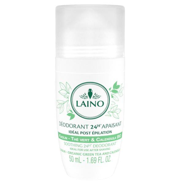 Deodorant roll-on 24h cu ceai verde 50 ml Laino imagine produs