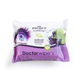Servetele demachiante cu ulei de struguri 20 buc - Doctor Wipes
