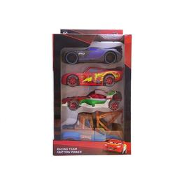 Set 4 masinute Cars, varsta 3 ani+, multicolor - Disney