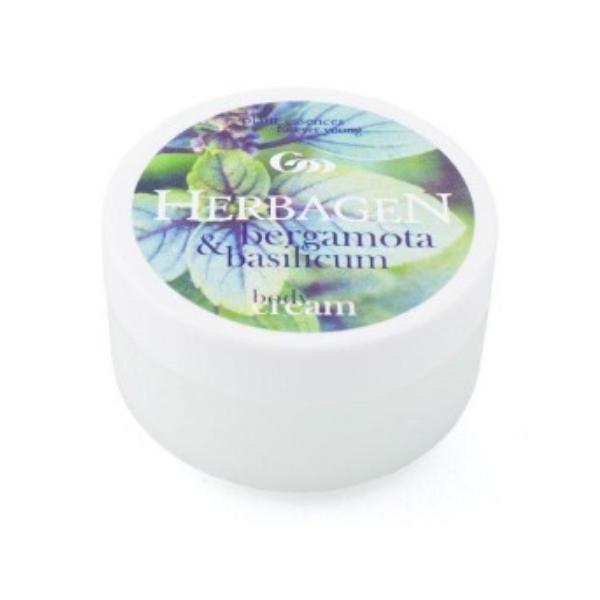 Crema de Corp cu Bergamota si Busuioc Herbagen, 150ml imagine produs