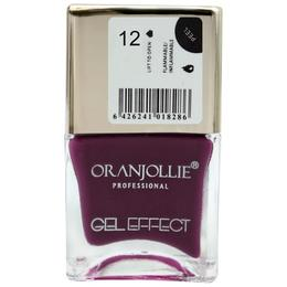 Lac de unghii Oranjollie Gel Effect 12, 15 ml
