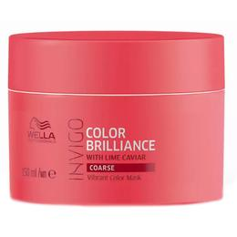 Masca pentru Par Vopsit, Aspru - Wella Professionals Invigo Color Brilliance Vibrant Color Mask Coarse Hair, 150ml