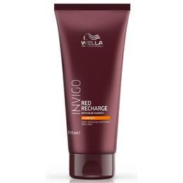 Balsam Pigmentat pentru Nuante Calde de Rosu - Wella Professionals Invigo Red Recharge Color Refreshing Conditioner Warm Red, 200 ml