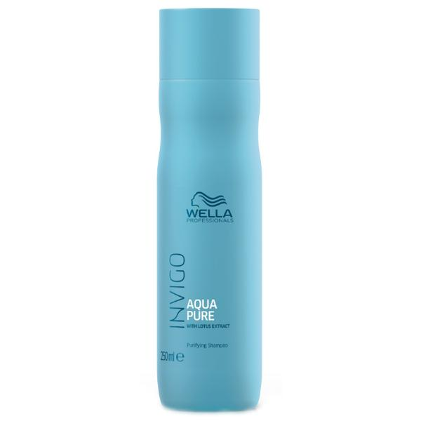 Sampon Purificator impotriva Excesului de Sebum - Wella Professionals Invigo Aqua Pure Purifying Shampoo