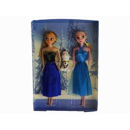 Set papusi Frozen, Anna, Elsa si Olaf, 33 cm, varsta 3 ani+, multicolor