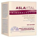 Crema Antirid Antipoluare SPF 10 - Aslavital Mineralactiv Anti-Wrinkle Anti-Pollution Cream, 50ml
