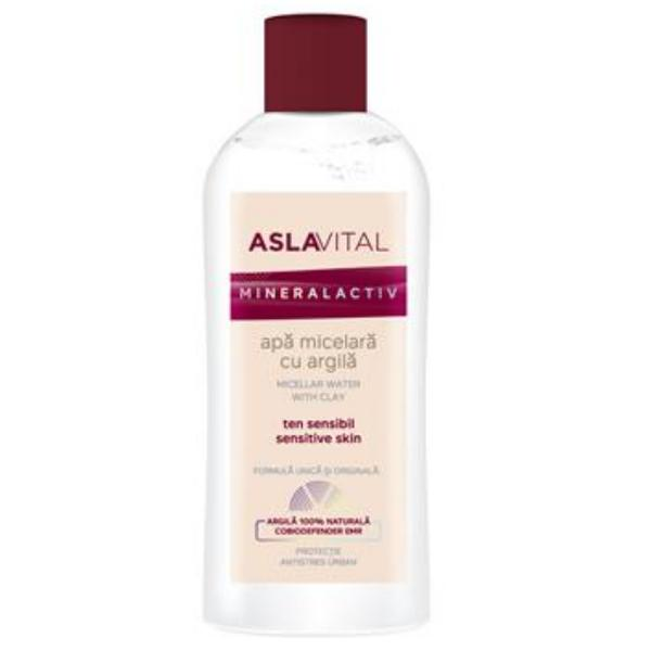 Apa Micelara cu Argila - Aslavital Mineralactiv Micellar Water with Clay, 150ml imagine produs