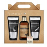 Set Cadou Men's Fuzzy Duck Cedarwood & Wild Sage 3 Piece Set - Balsam Aftershave 200ml, Lotiune de Curatare pentru Par si Corp 300ml, Gel de Dus 200ml