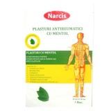 Plasturi Antireumatici cu Mentol Narcis, 12 x 18cm