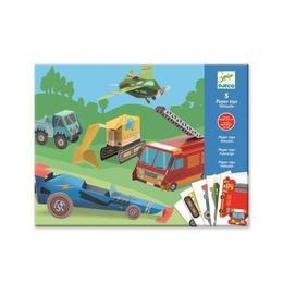 Imagine 5 Paper Toys, Les Engins, Autovehicule