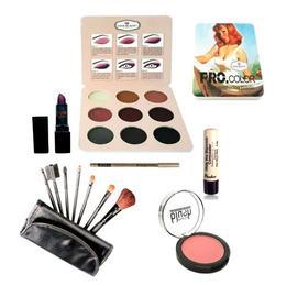 Kit makeup cu fard ochi poseta nr. 01 - Ever Beauty