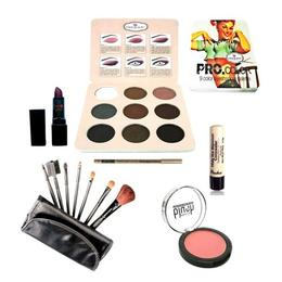 Kit makeup cu fard ochi poseta nr. 03 - Ever Beauty