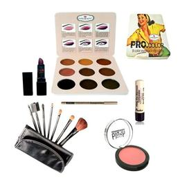 Kit makeup cu fard ochi poseta nr. 02 - Ever Beauty