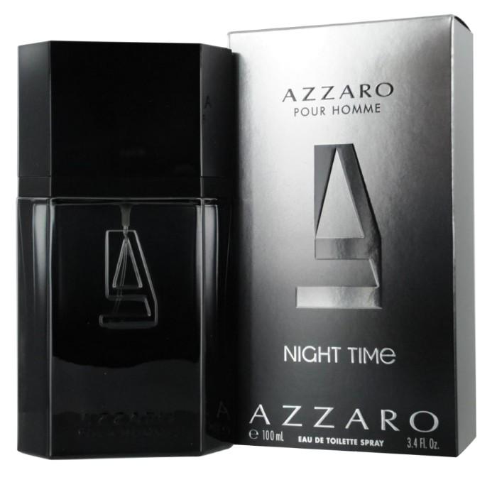 Apa de Toaleta Azzaro Pour Homme Night Time, Barbati, 100ml poza