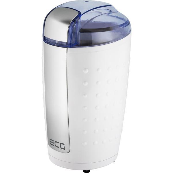 Rasnita de cafea ECG KM 110, 200 W, 80 g, culoare alb cu argintiu