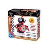 Set modelare - Spumini, Robot 1: Negru cu rosu