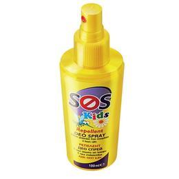 Spray protector impotriva intepaturilor de tantari SOS Kids 100 ml - Kokona