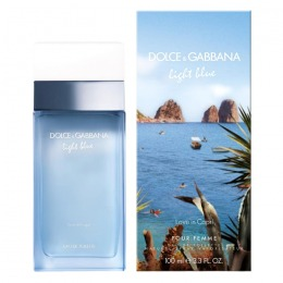 Apa de Toaleta Dolce & Gabbana Light Blue Love in Capri, Femei, 100ml