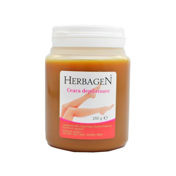Ceara Depilatoare Herbagen, 250g imagine produs