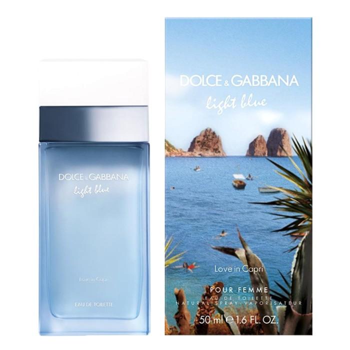 Apa de Toaleta Dolce & Gabbana Light Blue Love in Capri, Femei, 50ml imagine produs