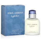 Apa de Toaleta Dolce & Gabbana Light Blue Pour Homme, Barbati, 75ml