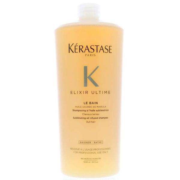 Sampon Pentru Stralucire - Kerastase Elixir Ultime Le Bain Sublimating Oil Infused Shampoo, 1000ml