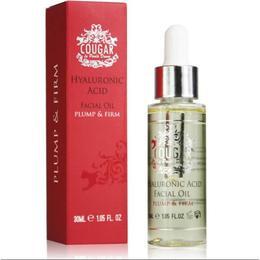 Ulei facial cu Acid Hialuronic pentru Ten Uscat Cougar 30 ml