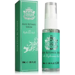 Serum de fata Anti-Imbatranire cu Aloe Retinol si Acid Hialuronic Cougar 30 ml