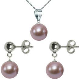 Set Aur Alb si Perle Premium Lavanda - Cadouri si Perle