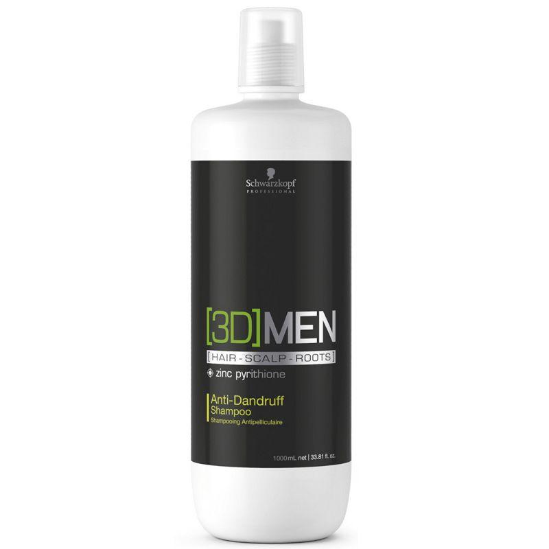 Sampon Antimatreata - Schwarzkopf 3D Men Anti-Dandruff Shampoo 1000 ml imagine