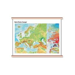 Europa - Harta fizica Cartographia 1:40 000 000, editura Cartographia