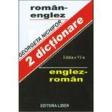 Dictionar Roman - Englez, Englez - Roman - Georgeta Nichifor, editura Lider