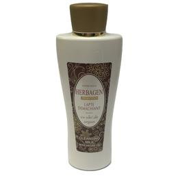 Lapte Demachiant cu Ulei de Argan Herbagen, 200g