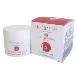 Crema Lifting si Luminozitate cu Extract din Melc L&L Herbagen, 50g