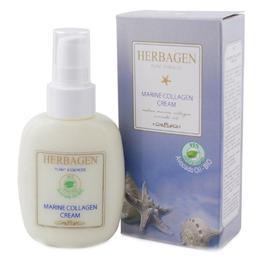 Crema cu Colagen Marin si Ulei de Avocado Bio Herbagen, 100g