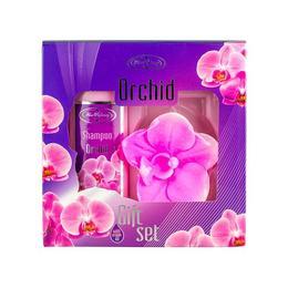 Set cadou Orchid cu sapun 35 g si sampon 75 ml - Fine Perfumery