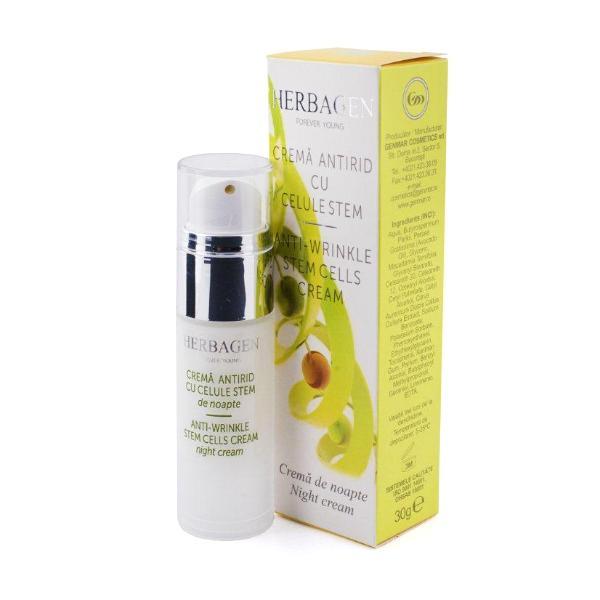 Crema de Noapte Antirid cu Celule Stem Herbagen, 30g imagine produs