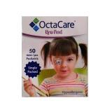 Plasturi Oculari Pediatrici Sterili Fete - Octamed OctaCare Pediatric Eye Pad, 5cm x 6.2cm, 50 buc
