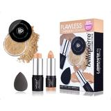 Set truse machiaj Flawless Complexion Cream - Dark BellaPierre
