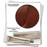 Vopsea Permanenta - Alfaparf Milano Evolution of the Color nuanta 7MRB Metallic Ruby Brown Biondo Medio