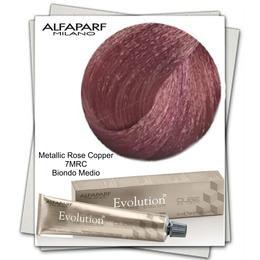 Vopsea Permanenta - Alfaparf Milano Evolution of the Color nuanta 7MRC Metallic Rose Copper Biondo Medio