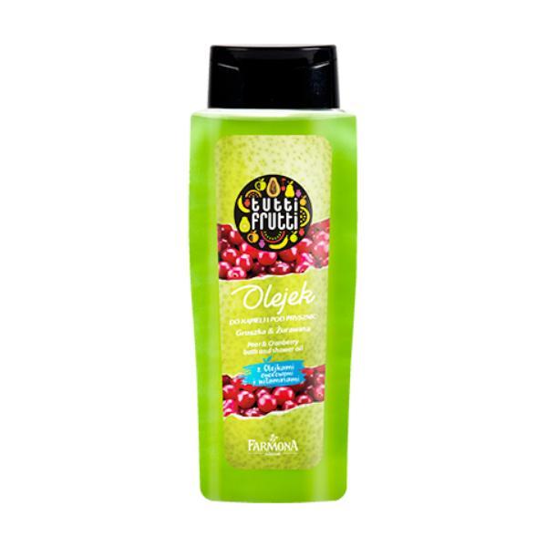 Gel de Baie si Dus cu Pere si Merisoare - Farmona Tutti Frutti Pear & Cranberry Bath and Shower Gel, 100ml imagine produs