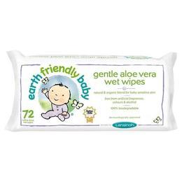 Servetele umede pentru bebelusi cu musetel si aloe vera Earth Friendly Baby 72 buc