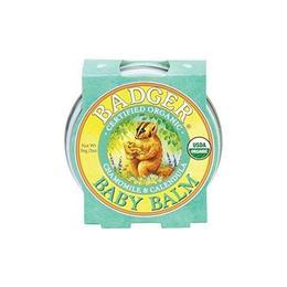 Mini balsam pentru bebelusi, Baby Balm Badger, 21 g