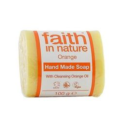 Sapun solid cu portocale, Faith in Nature, 100 g