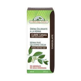 Vopsea henna crema, semipermanenta - culoare Ciocolata Corpore Sano, 60 ml
