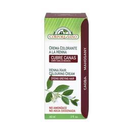 Vopsea henna crema, semipermanenta - culoare Mahon Corpore Sano, 60 ml